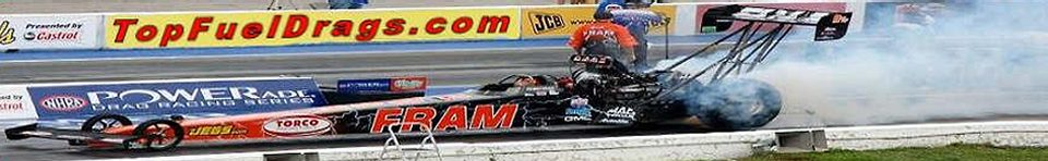 A site for fans of Top Fuel Drag Racing